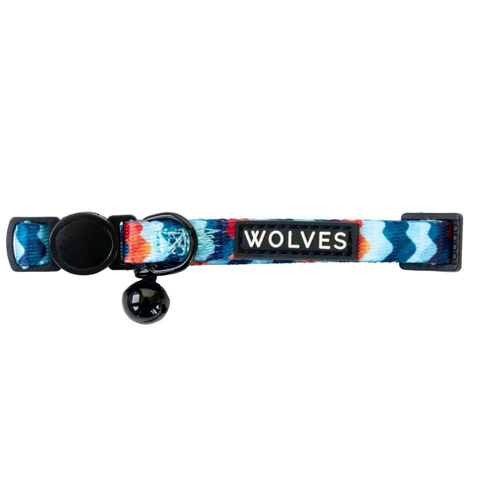 Wolves of Wellington Cat Collar Maverick