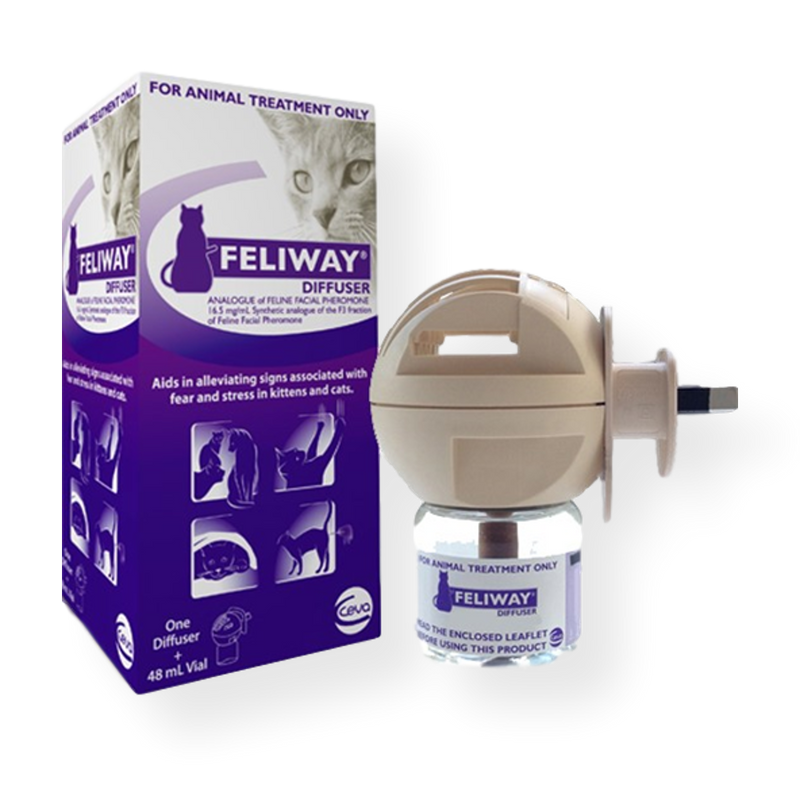 Feliway Cat Calm Diffuser plus Refill 48ml Diffuser + Refill 48ml
