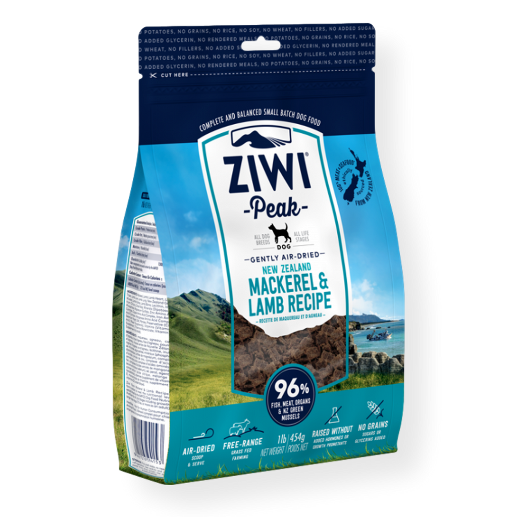 Ziwi Peak Air Dried Mackeral & Lamb Dog Food