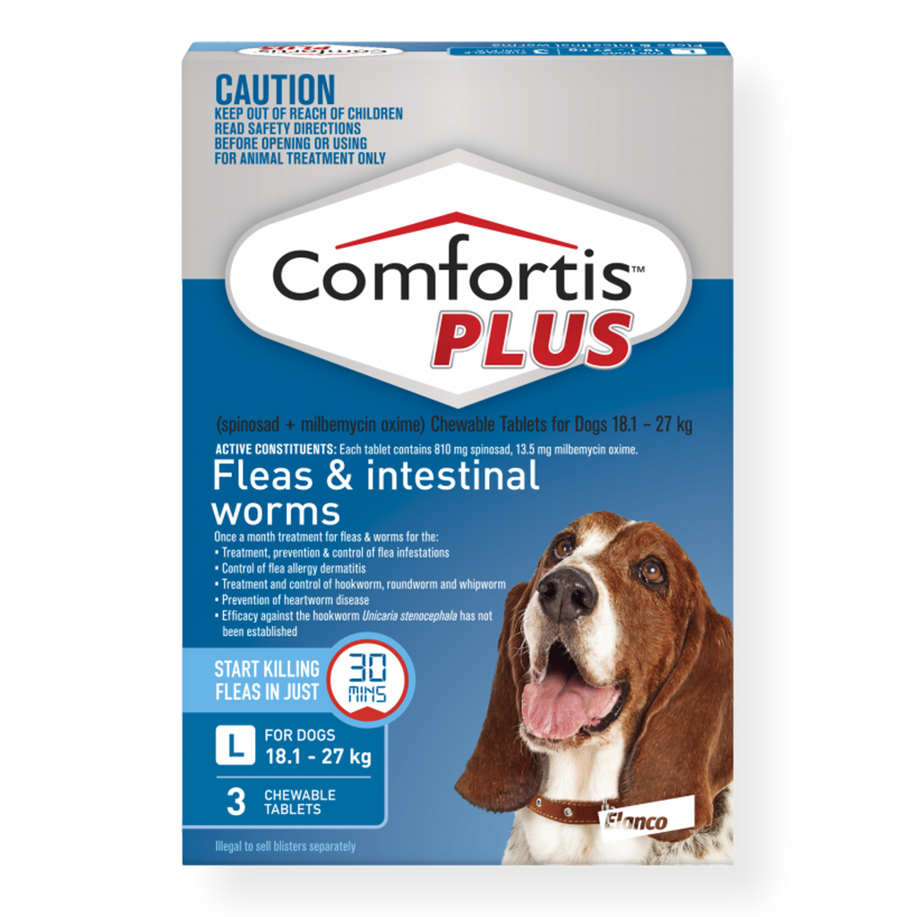 Comfortis Plus Dog Flea Treatment