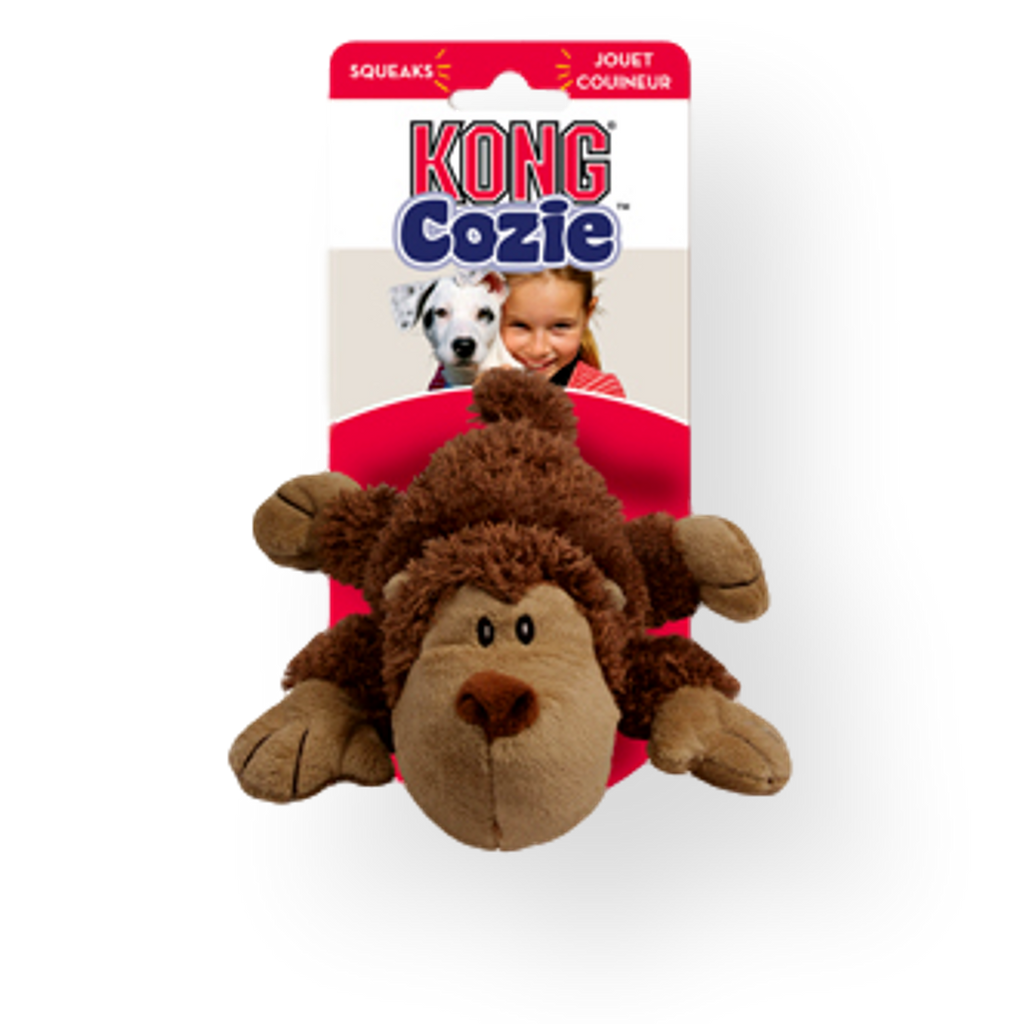 Kong Cozie King Monkey Dog Toy