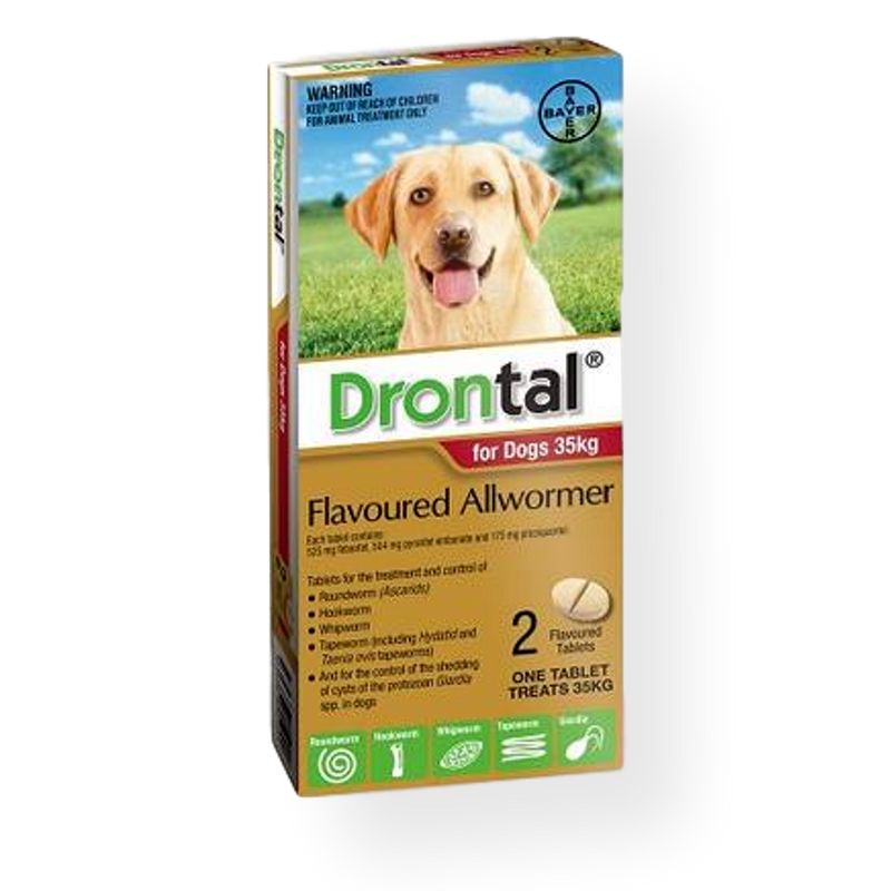 Drontal Dog Worming Tablets