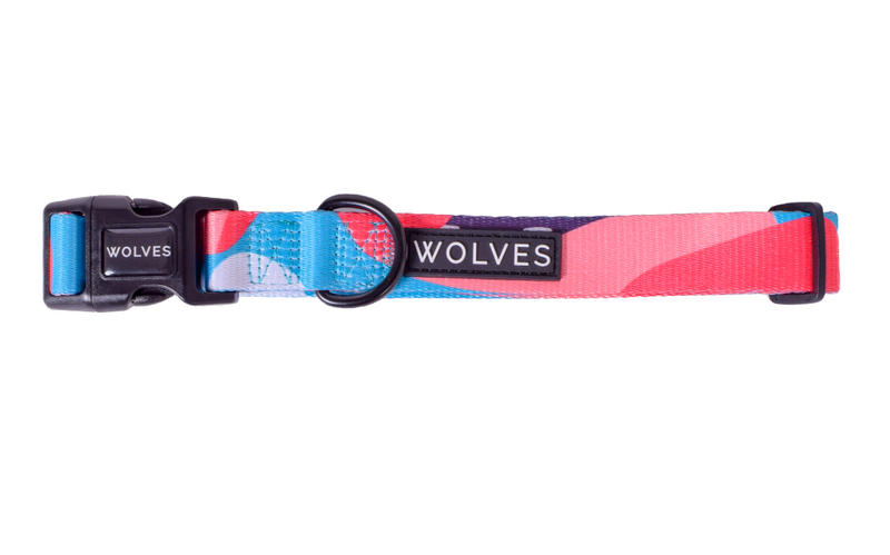 Wolves of Wellington Dog Collar Floss
