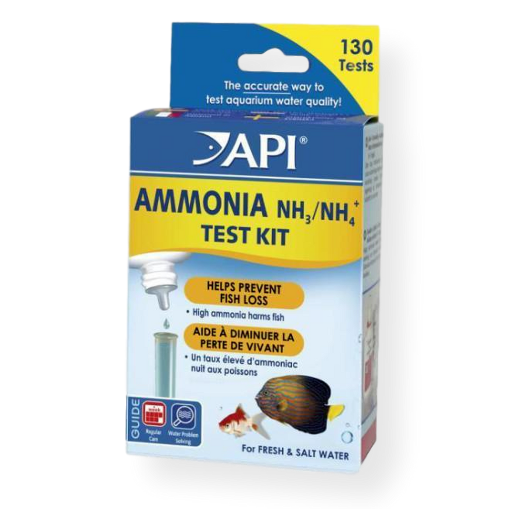 API Ammonia Fresh & Salt Water Test Kit