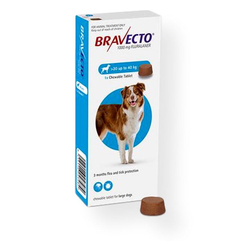 Bravecto Tablet Dog Flea & Tick Treatment