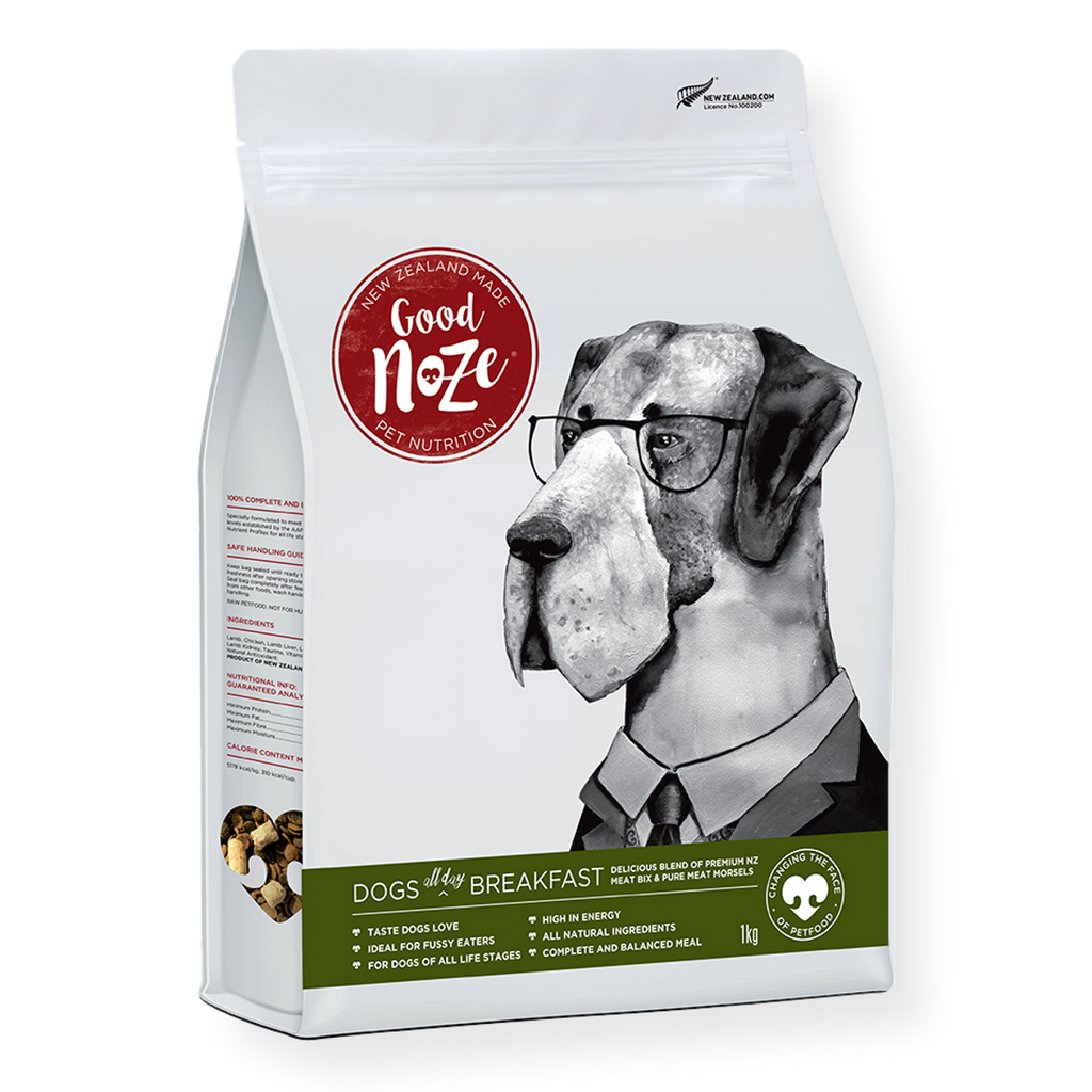 Goodnoze All Day Breakfast Dog Food 1kg
