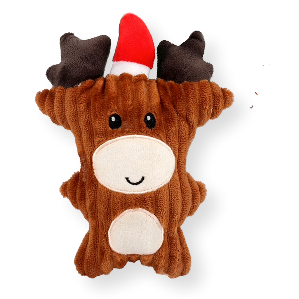 Bark & Bone Christmas Reindeer Dog Toy