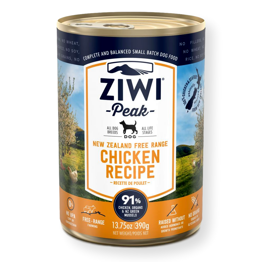 Ziwi Peak Canned Chicken Dog Food 390g