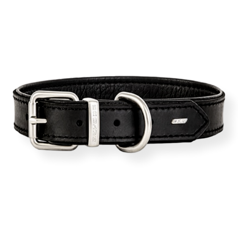EzyDog Oxford Dog Collar Black Small