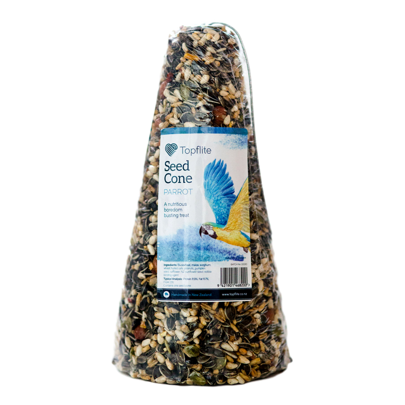 Topflite Bird Seed Cone for Parrot - Large