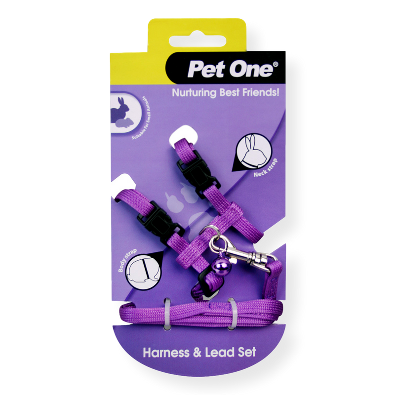 Pet One Small Animal Leash & Harness