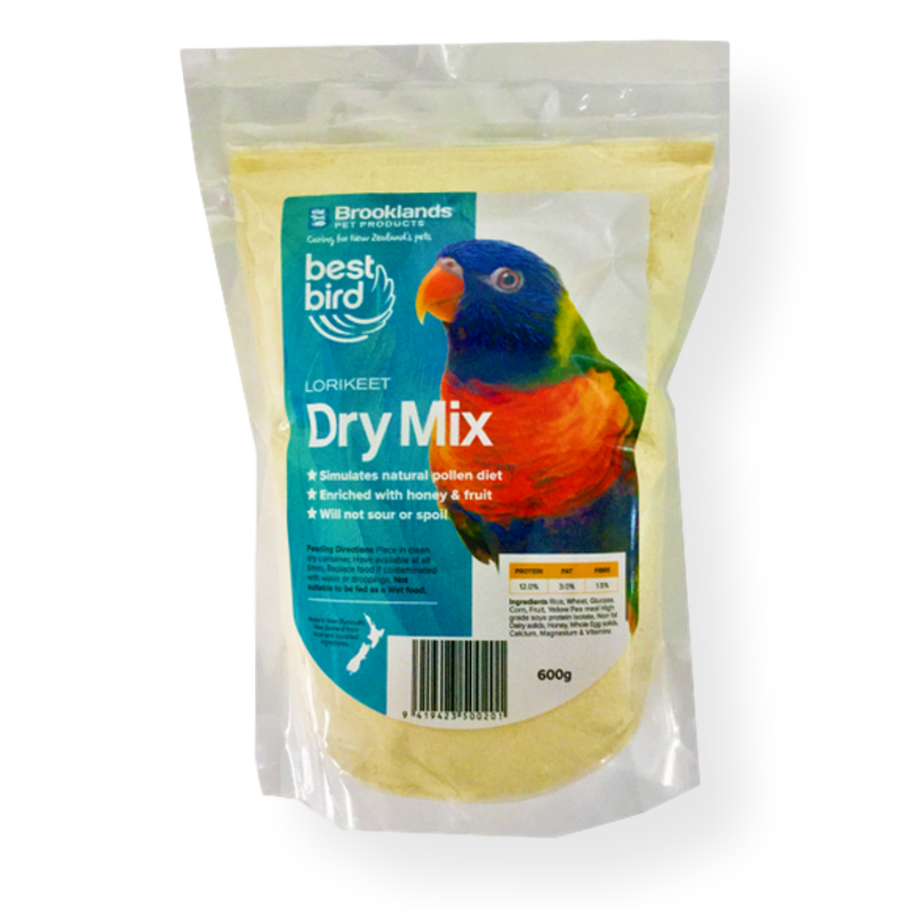 Best Bird Lorikeet Dry Mix 600gms