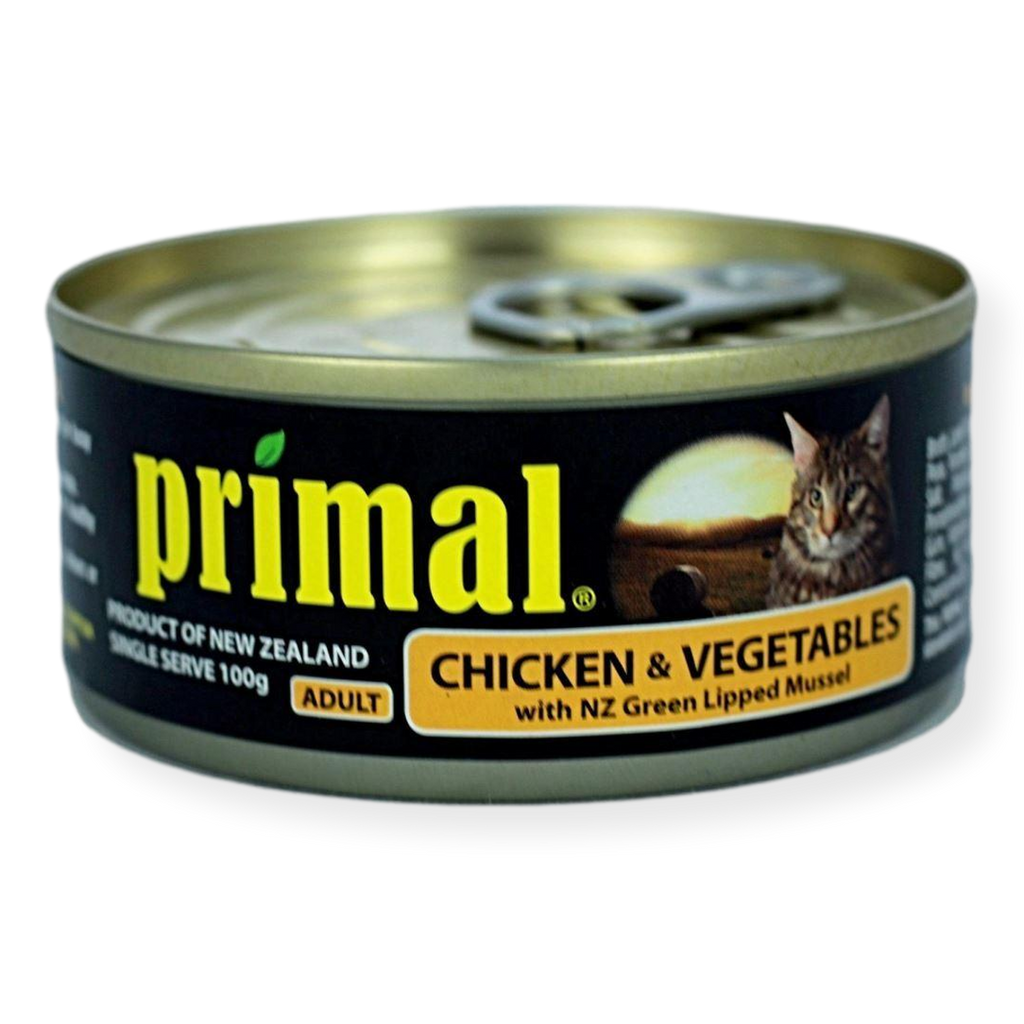 Primal Chicken And Vegetables Cat Food 100g