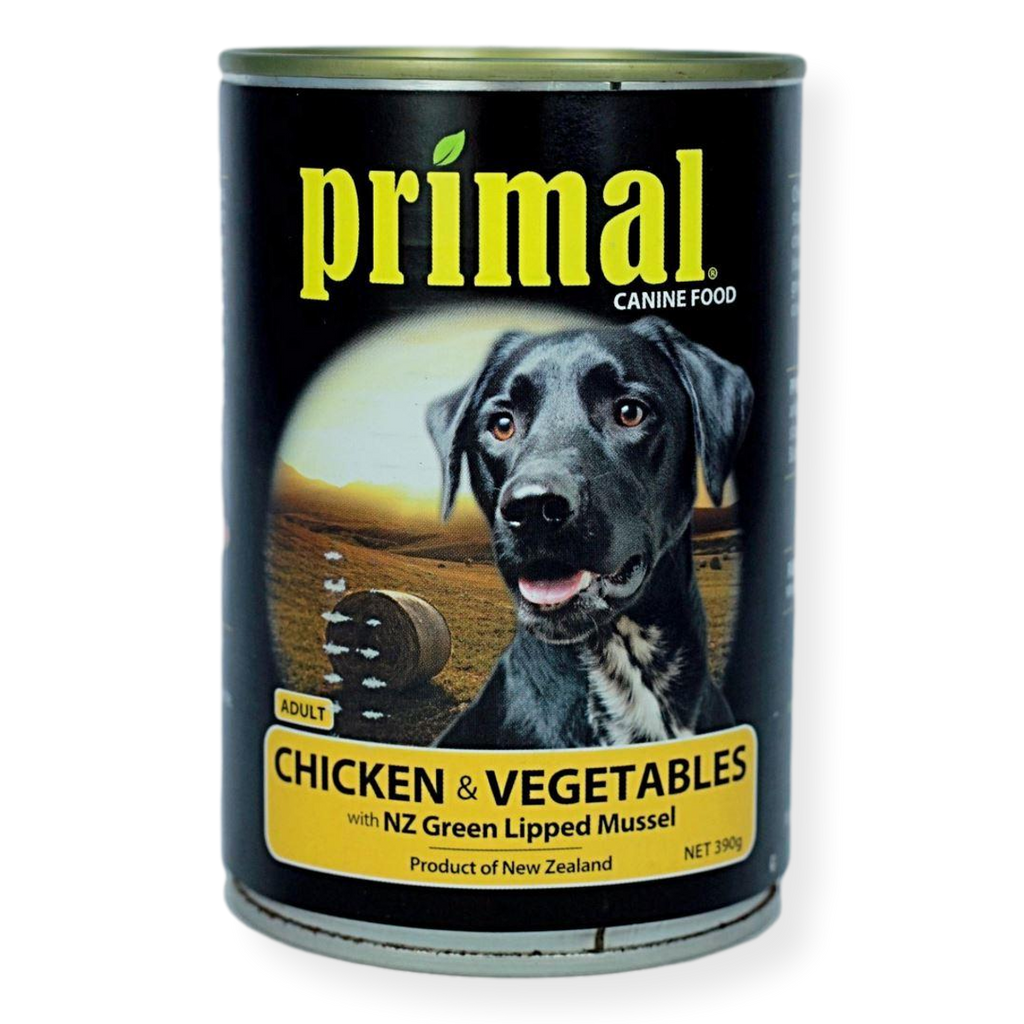 Primal Chicken And Vegetables Dog Food 395g