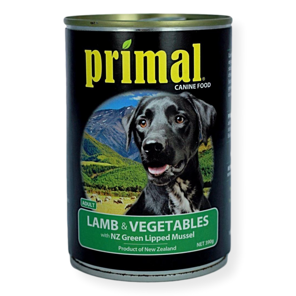 Primal Lamb And Vegetables Dog Food 395g