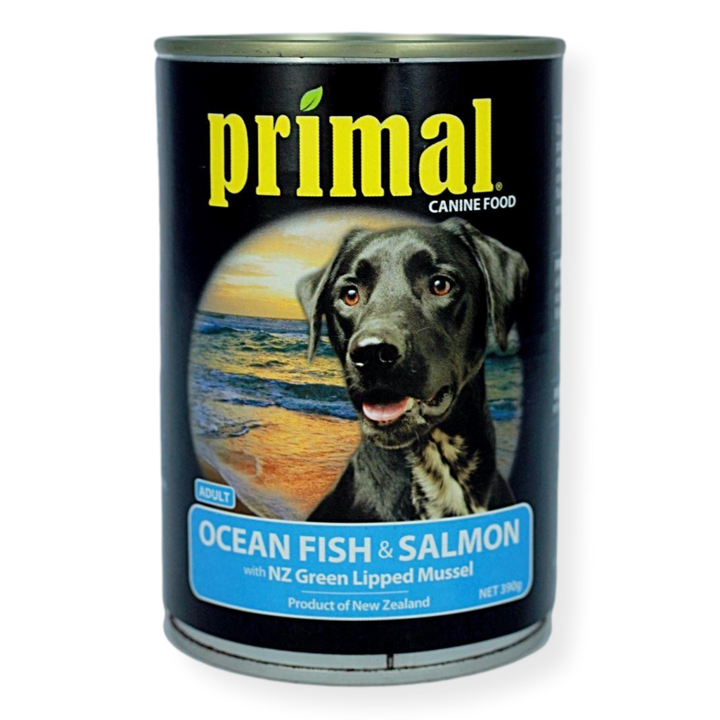 Primal Ocean Fish And Salmon Dog Food 390g
