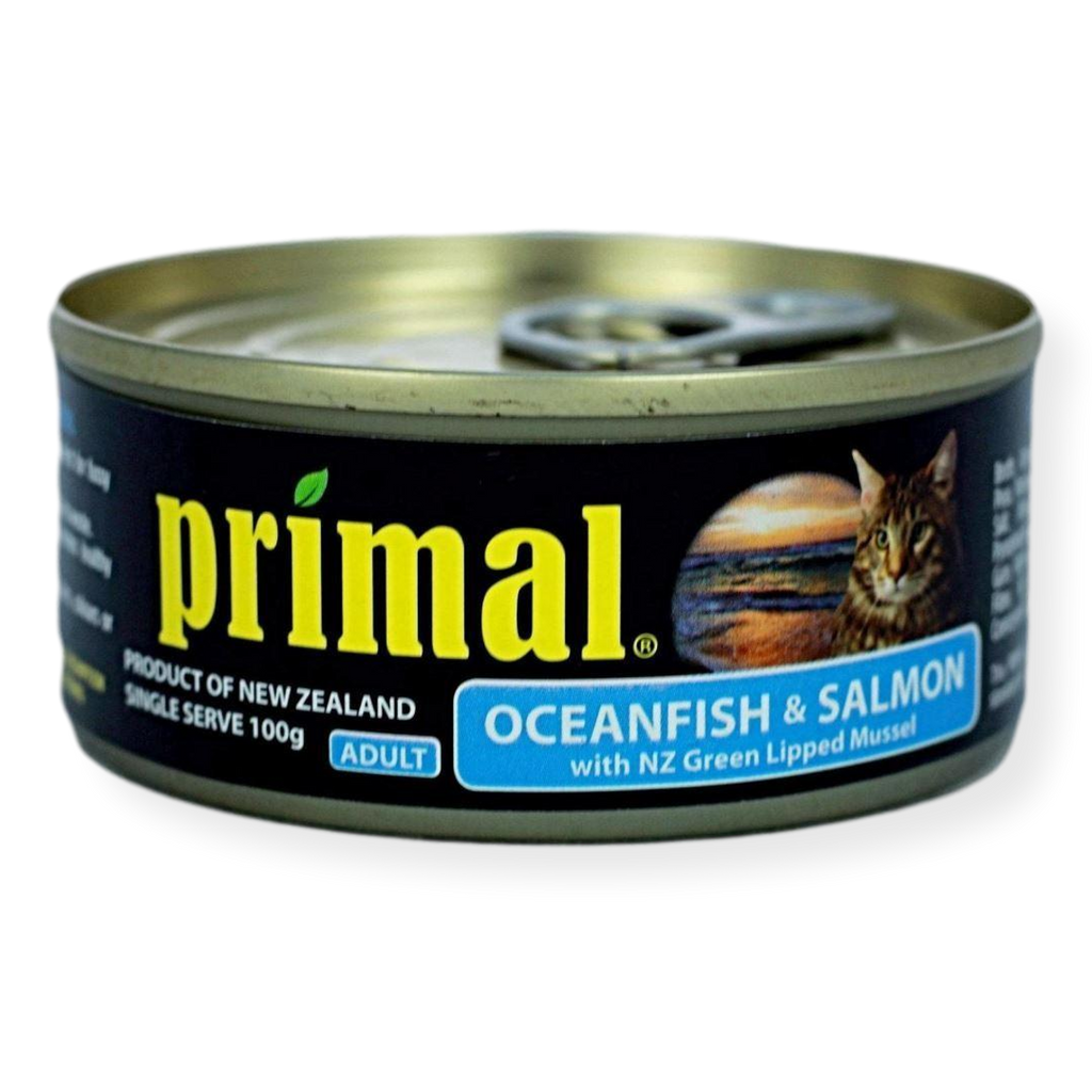 Primal Ocean Fish And Salmon Cat Food 100g