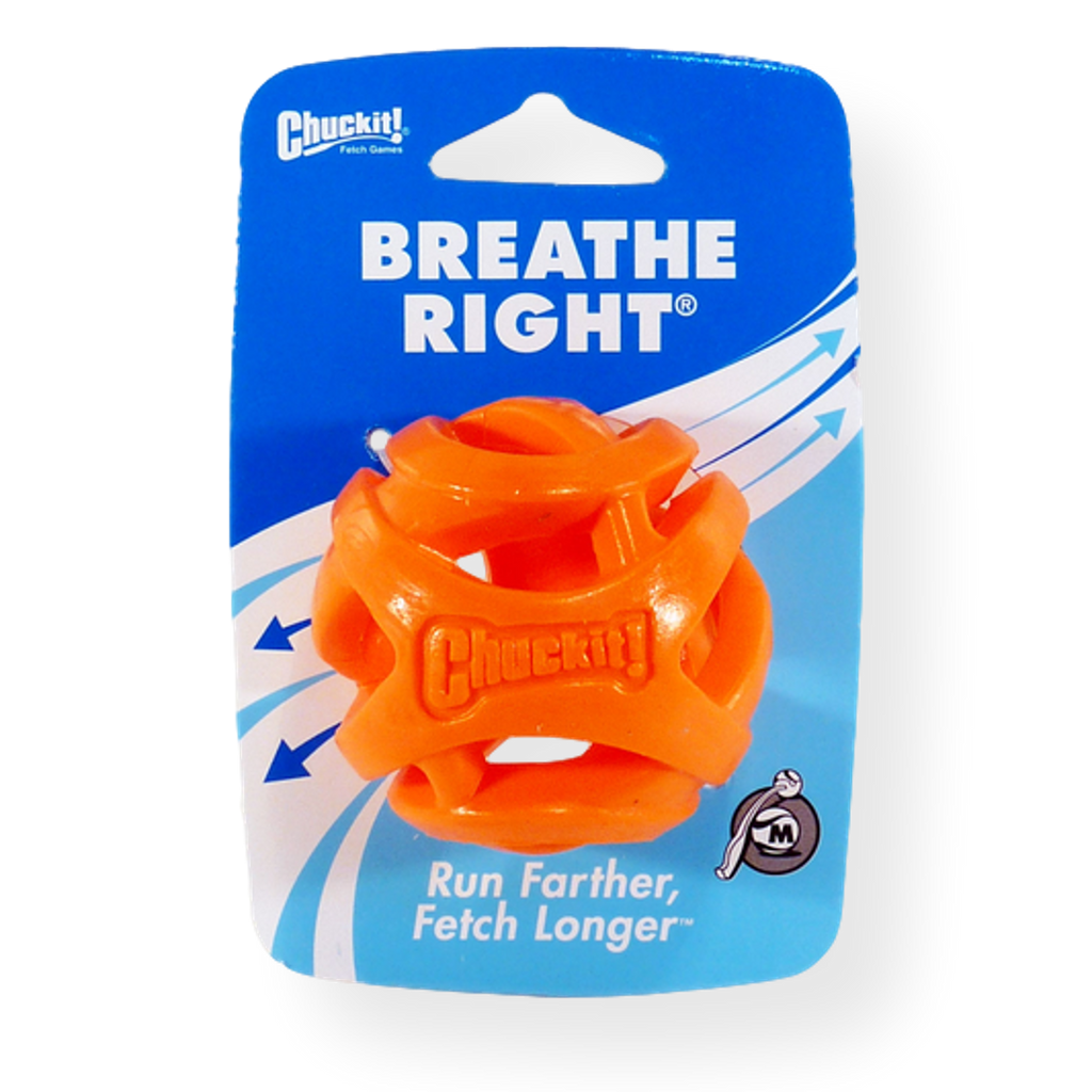Chuckit Breathe Right Dog Toy Ball Medium
