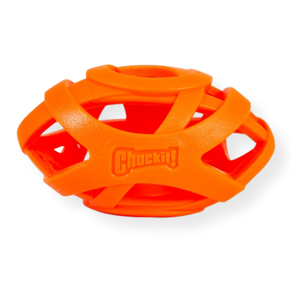 Chuckit Breathe Right Dog Toy Football