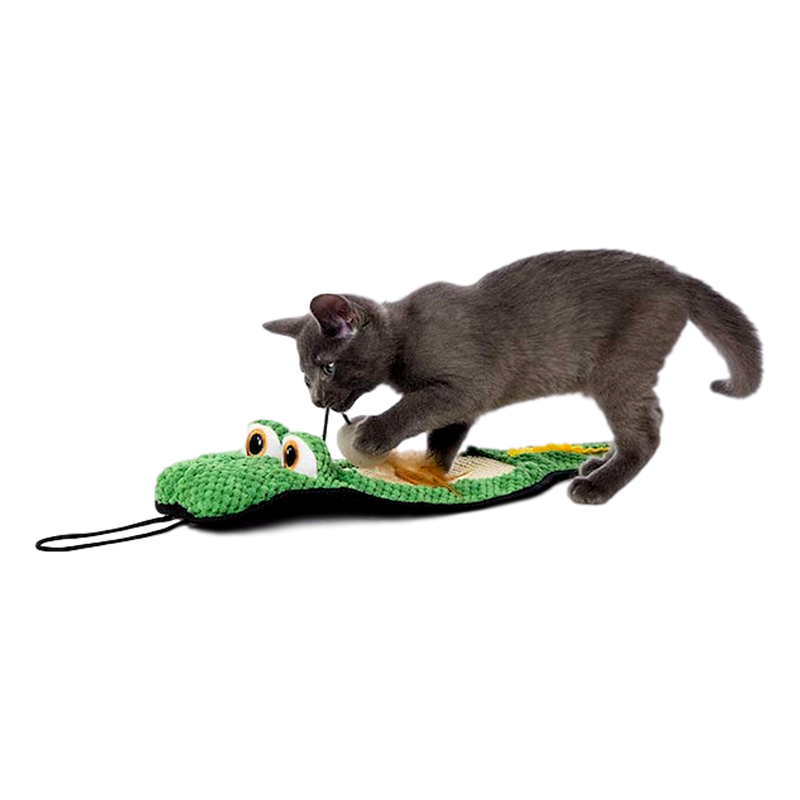 Hartz Gator Scratch Pad Cat Toy