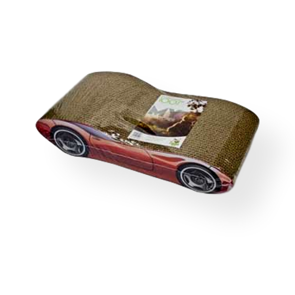 Tigga Cardboard Cat Scratcher Car