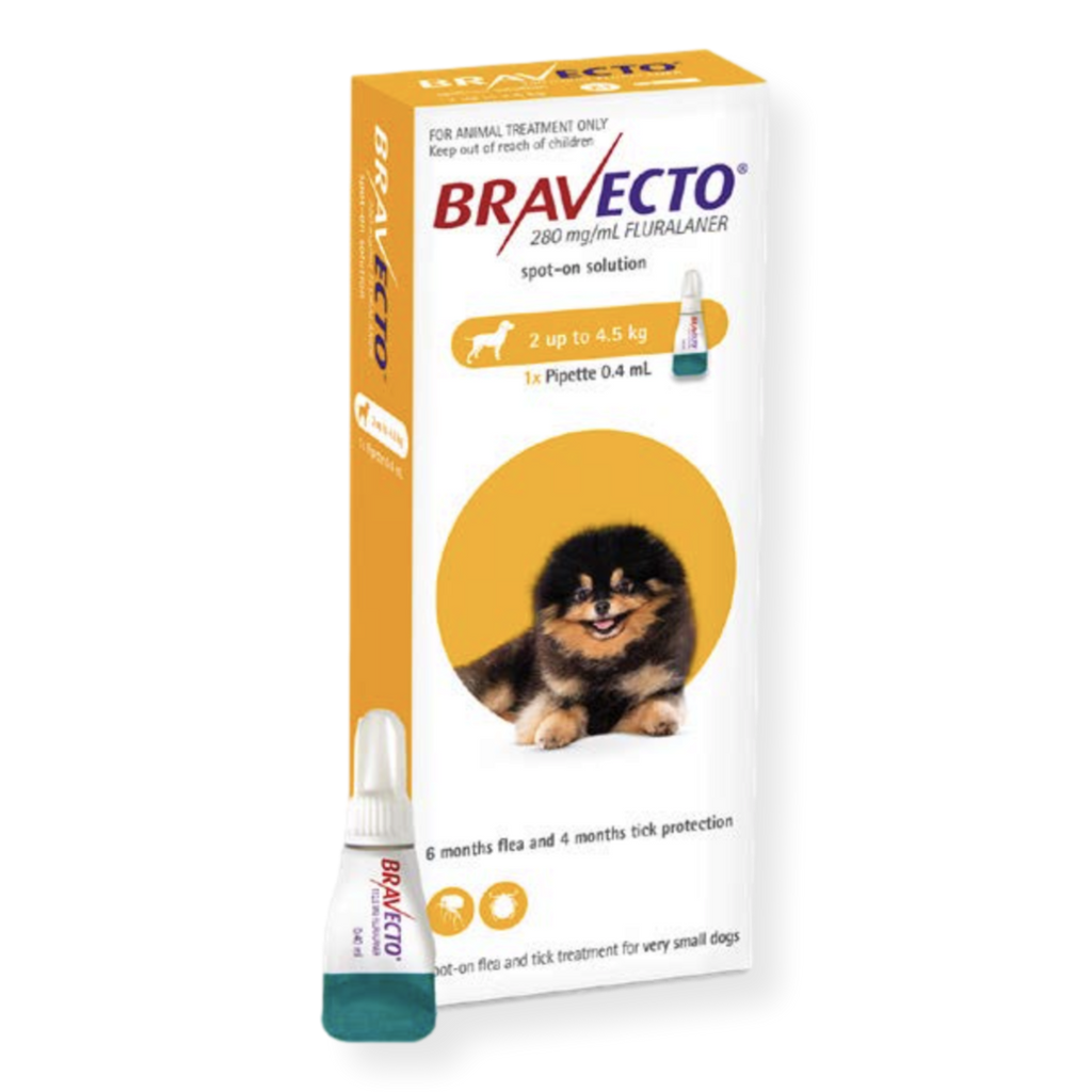 Bravecto Spot On Dog Flea Treatment
