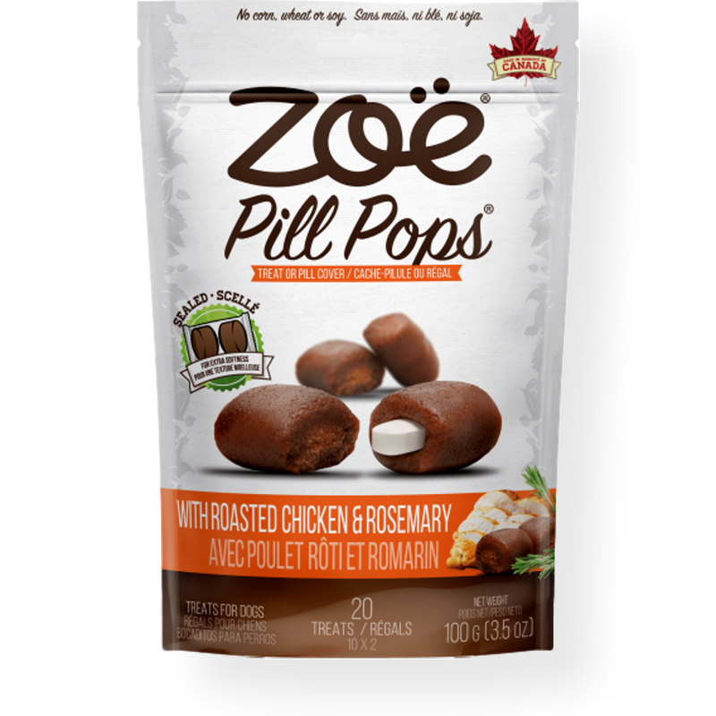 Zoe Pill Pops Roasted Chicken with Rosemary 100g