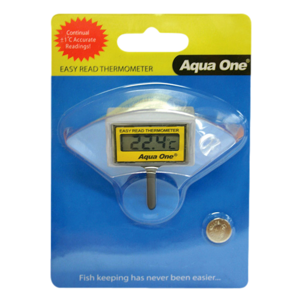 Aqua One Easy Read LCD Internal Digital Thermometer