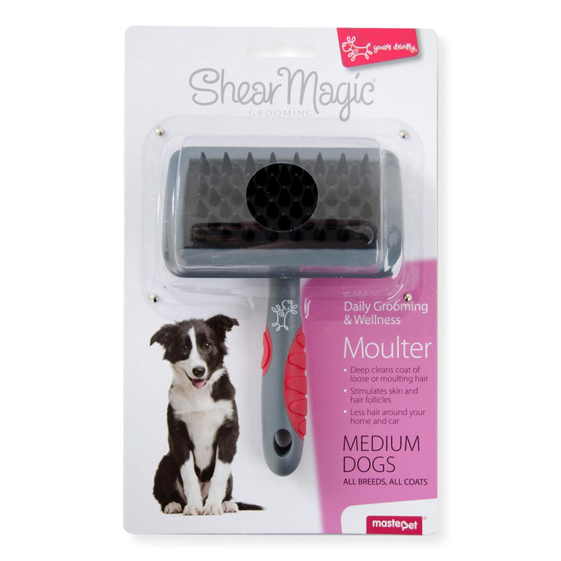 Shear Magic Moulting Brush Medium