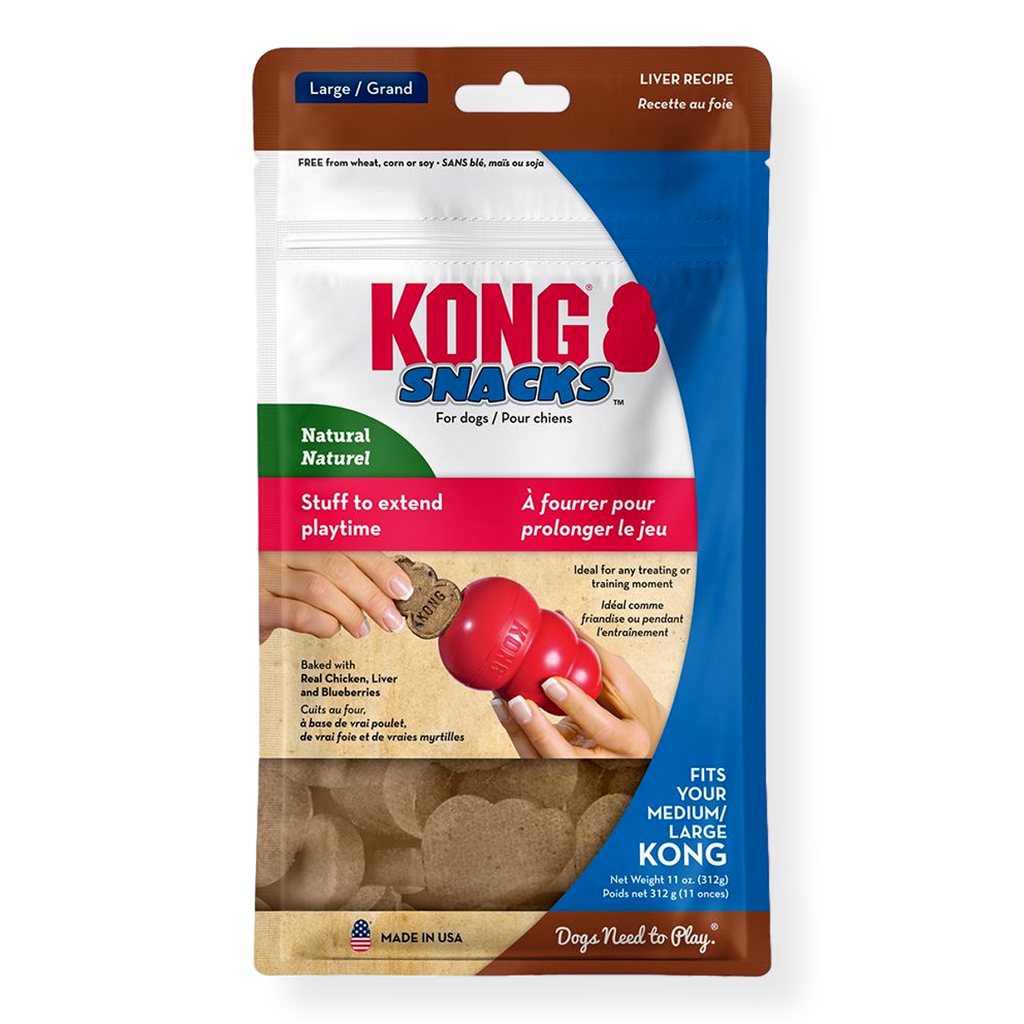 Kong Stuff N Liver Snacks Large 310g