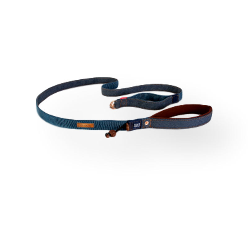 EzyDog Soft Trainer Dog Lead Denim