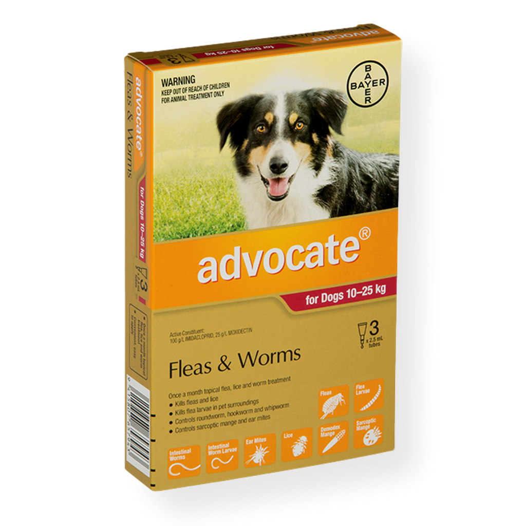Advocate Spot On Dog Flea & Worm Treatment