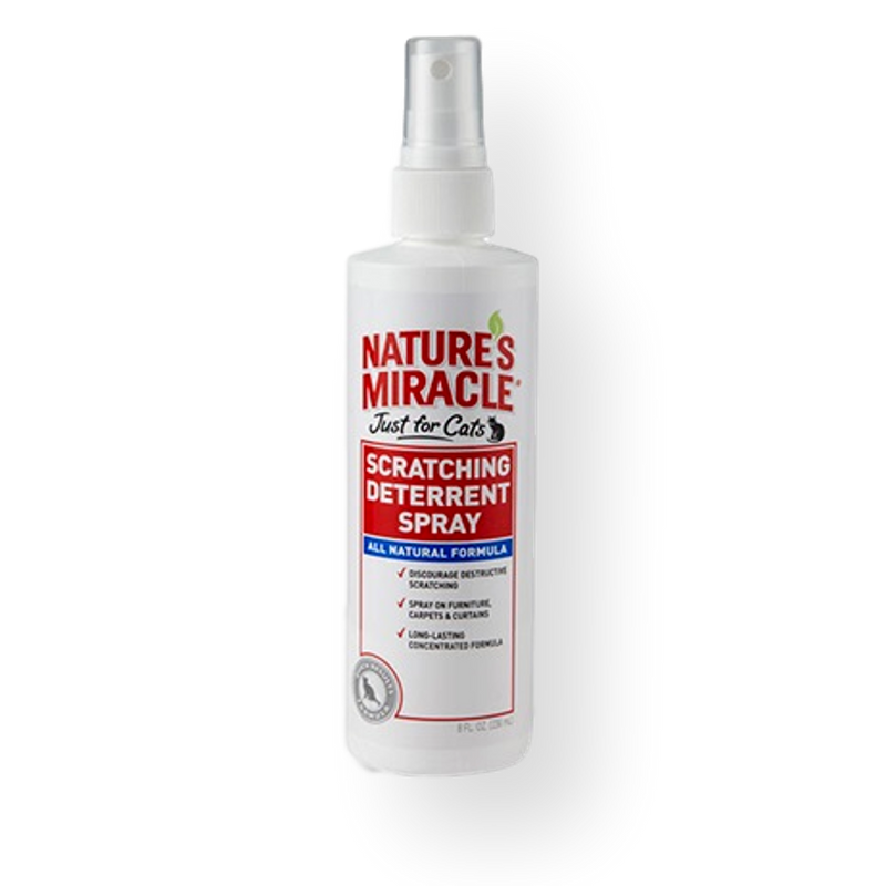 Natures Miracle Scratching Deterrent Spray for Cats 236ml 236ml