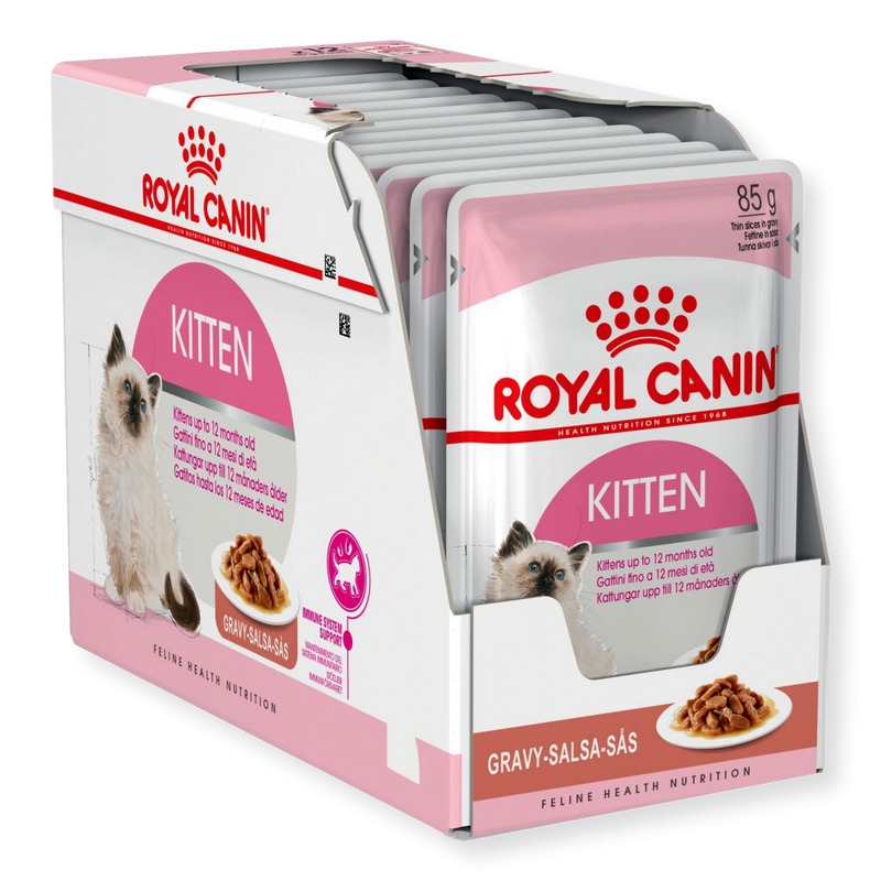 Royal Canin Kitten Instinctive Wet Food Gravy 85g