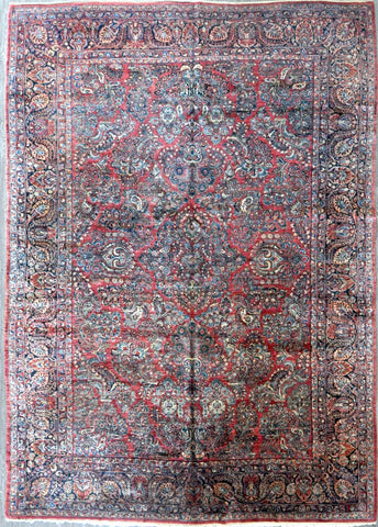 10x13.10 persian antique sarouk #35246