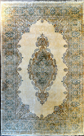 12.0x19.7 Antique Persian kerman #24980