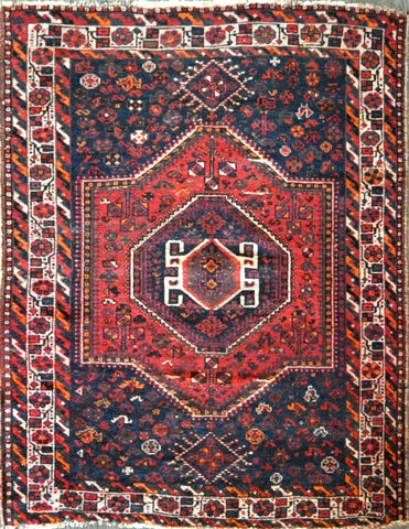 5.0x6.5 persian Antique Shiraz #77881