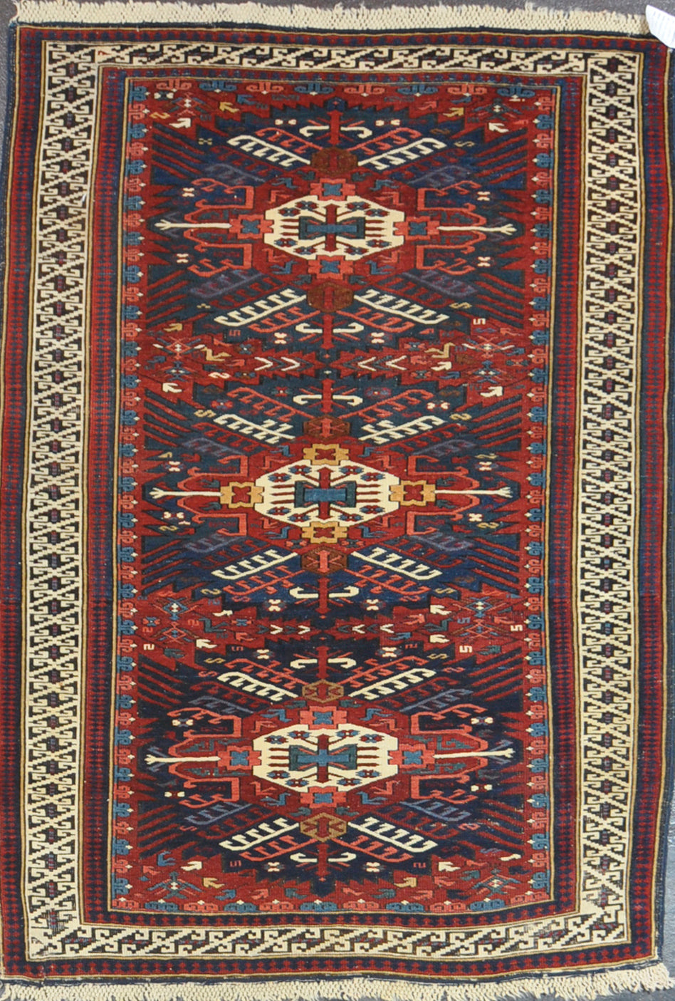 Rug Id 11443 Antique Kazak 4.2x5.9