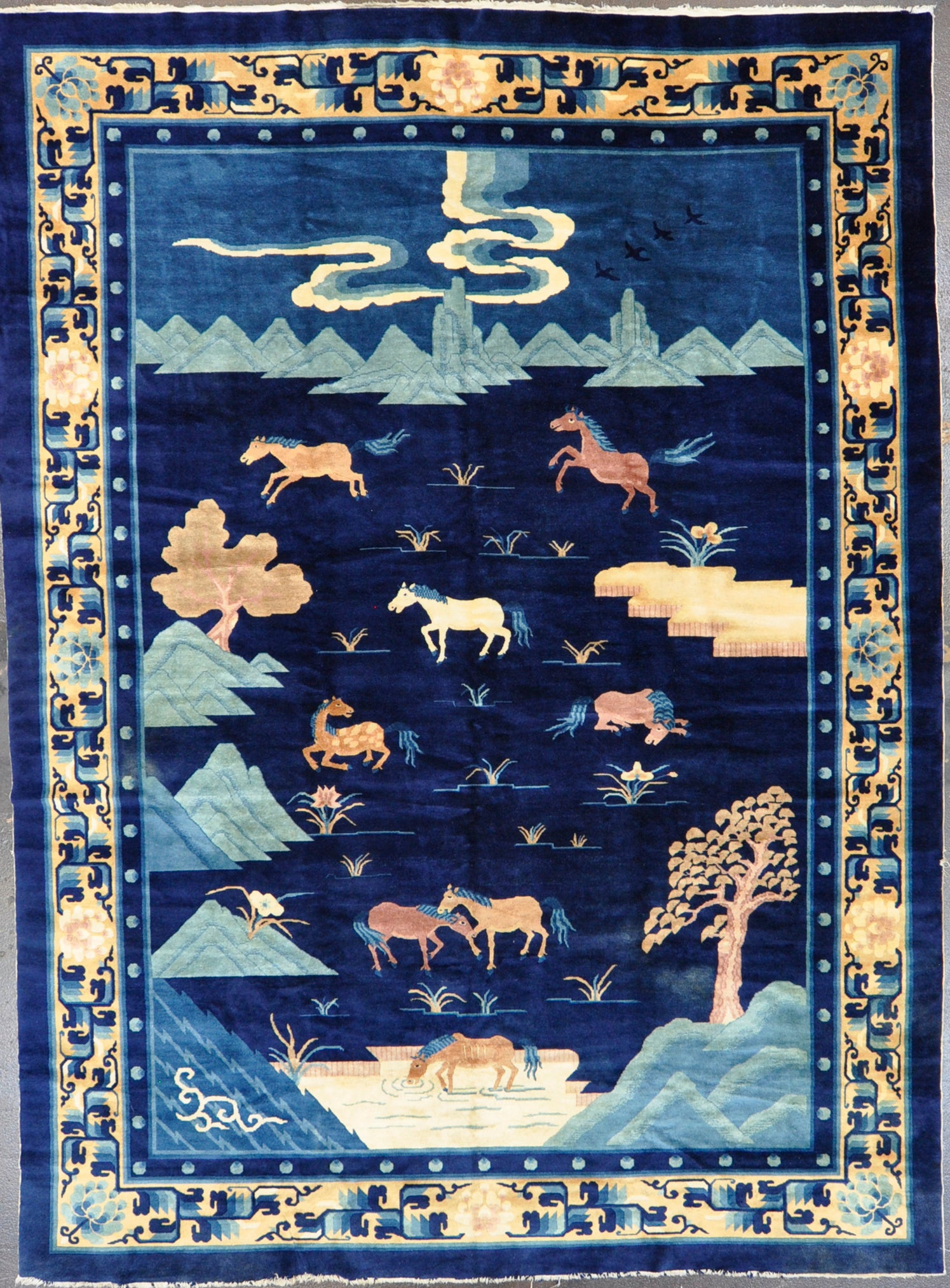 Rug Id: 12269 Antique Chinese 8.2x11.0
