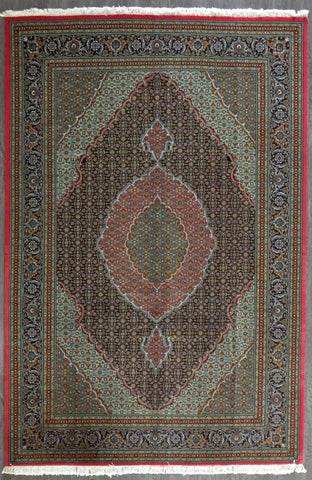 persian fish tabriz 6.9x10.0 #27719