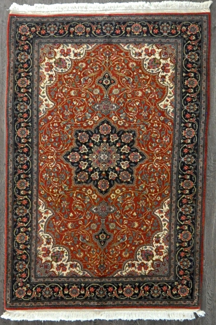 4.5x6.7 persian qum #22872 Sold