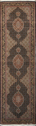 2.10x9.11 tabriz fish runner 50 Raj #62090