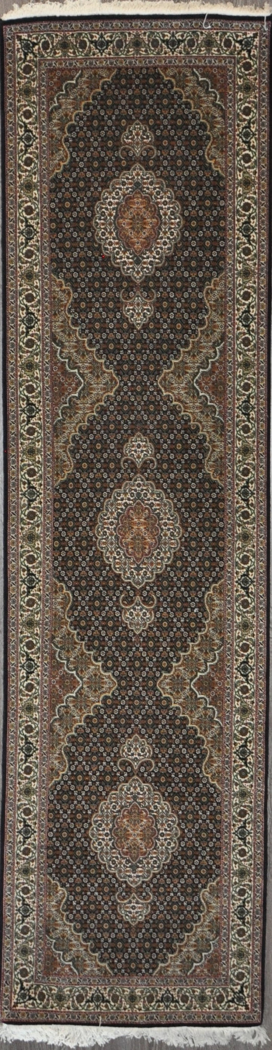 2.8x10.1 tabriz fish runner 50 Raj #19464