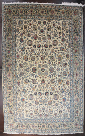 10.6x16.5 antique kashan #47748