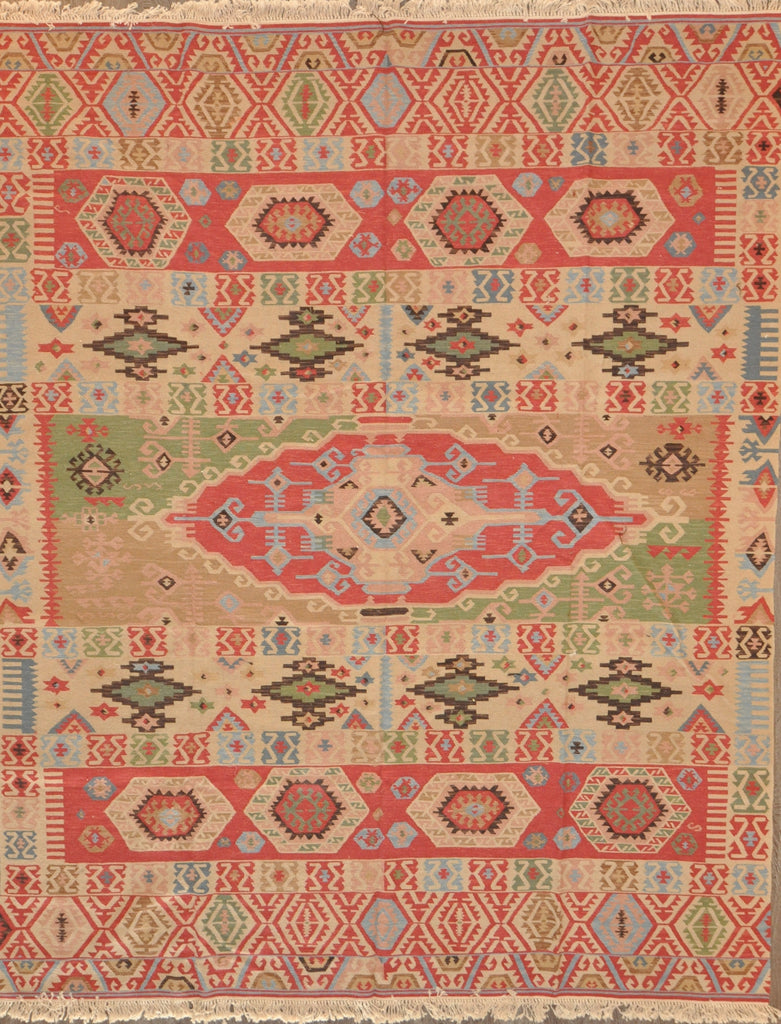 8.0x10.0 turkish kilim #31396