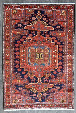4.3x6.0 Persian antique hamedan #71531