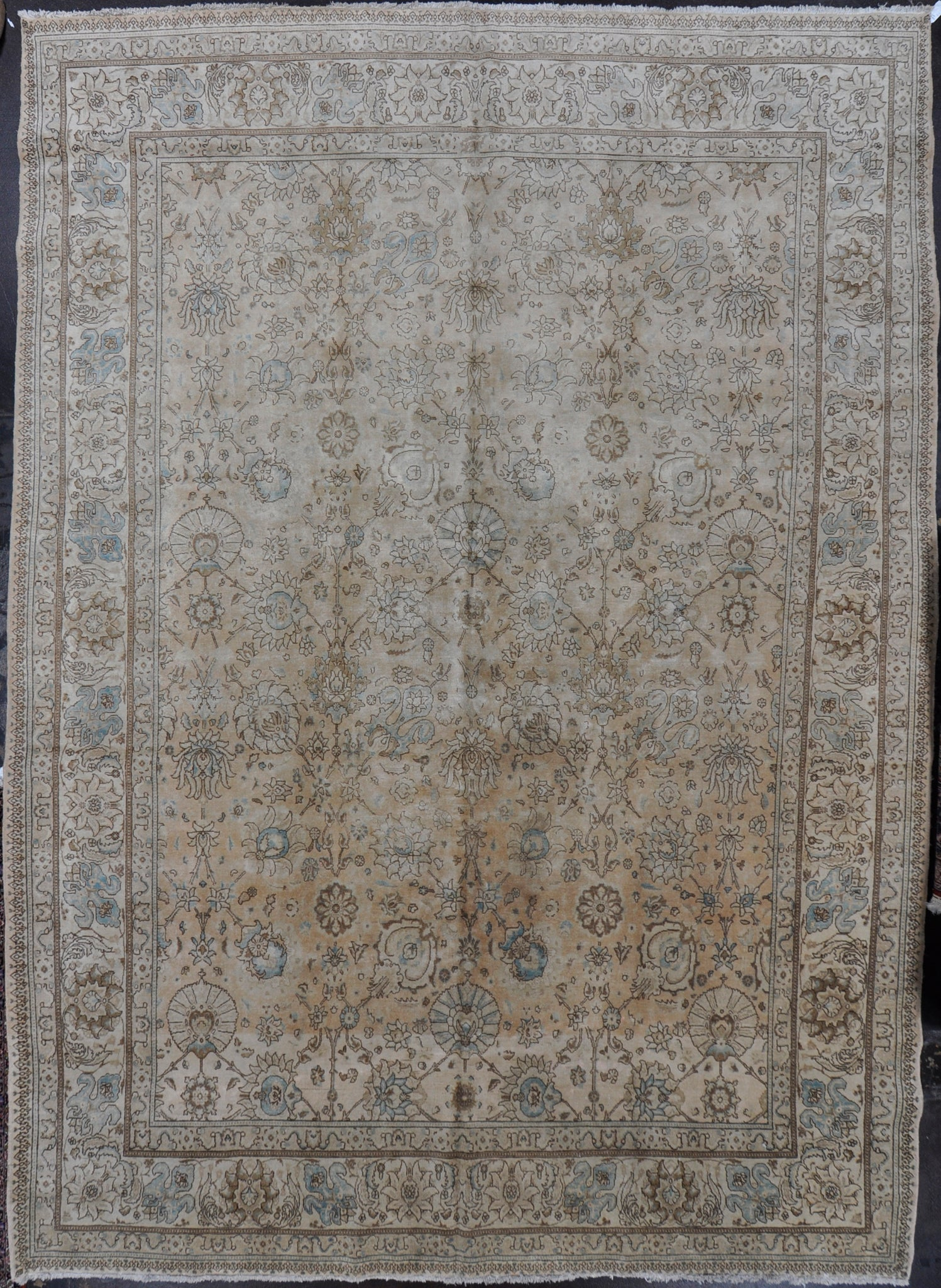 Rug Id:3060 Antique Tabriz 11.6x16.0