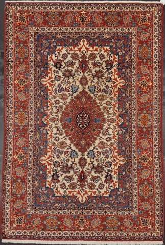Rug Id: 3062 Antique Isfahan 4.9x7.2