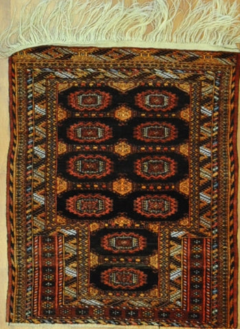 2.7x3.2 Persian antique turkaman #60354