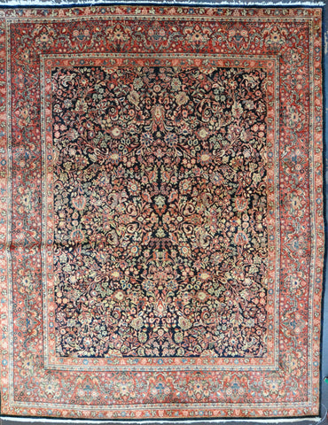 Rug Id: 37986 Antique Sarouk 10.2x12.10